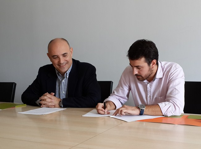 Signing Ceremony for the Technology and Academic Collaboration between the University of Cyprus (Computer Science Department) and Ideas2Life Ltd